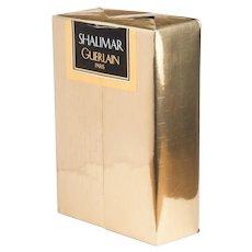Guerlain Shalimar Perfume Vintage Sealed Parfum Extrait 1987 4.2 FL.OZ.