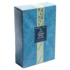 Guerlain L'Heure Bleue Perfume Parfum Extrait 1 FL.OZ. Vintage 1950's Sealed Box