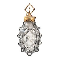Gold Mounted Cut Glass Scent Bottle France c.1760
