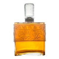Giant Rene Lalique Designed Perfume Factice Display Bottle For Molinard