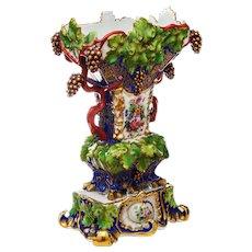 Kornilov Brothers Братьев Корниловых St. Petersburg Porcelain Vase Russian c.1850
