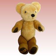 """Vintage Merrythought Golden Mohair Bear 14"""""""