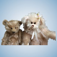 Two adorable Artist Bears