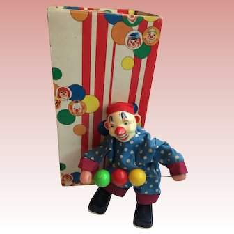Vintage Mechanical Clown 1975