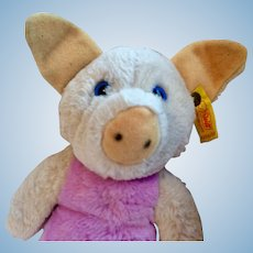 "Cute 8"" Steiff Piggy"