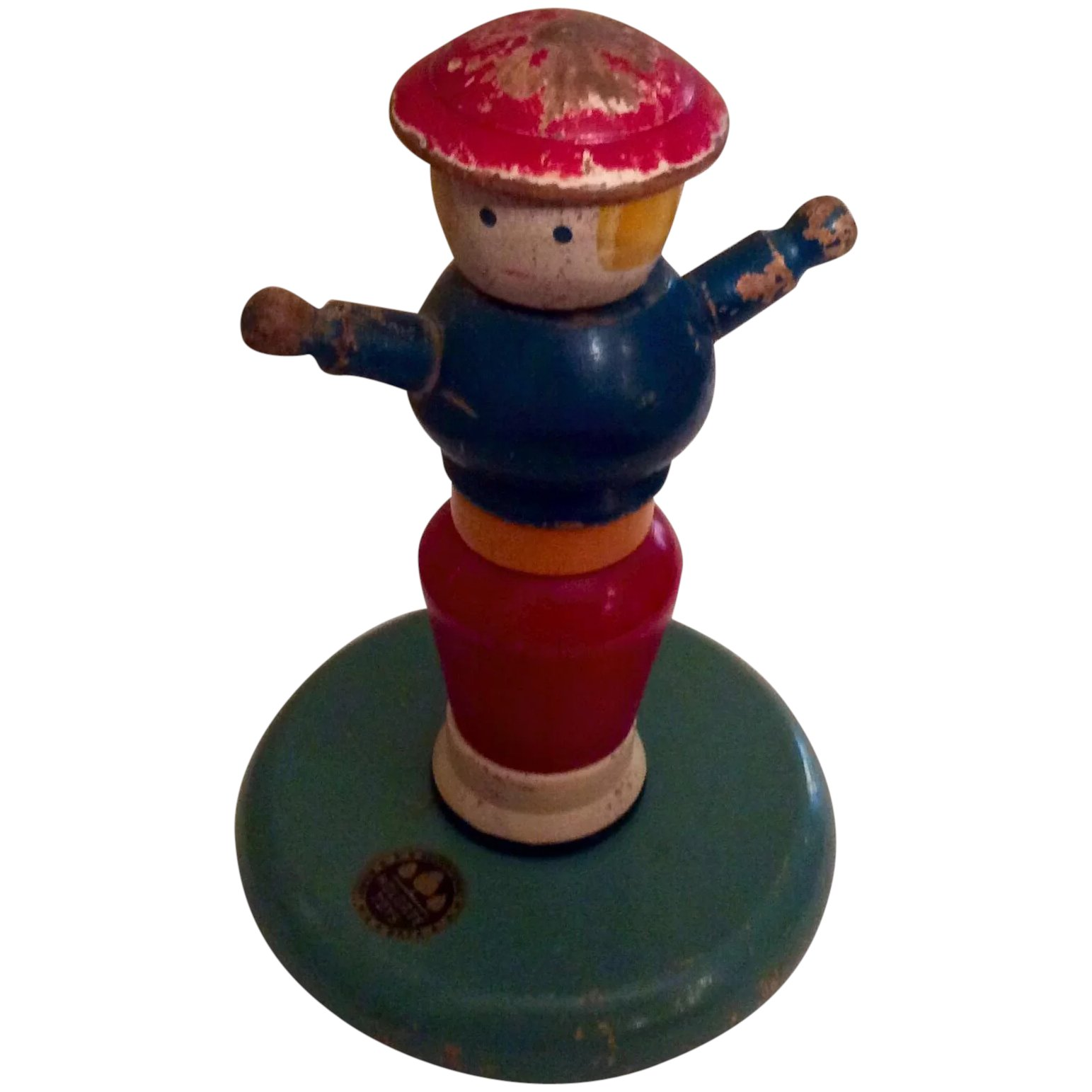 Holgate Wooden Stacking Toy 1946