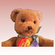"8"" Steiff Petsy Dralon Bear made in Germany 1970s"