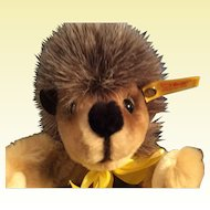 """Steiff Happy Hedgehog Igel  12"""" Puppet made in West Germany"""