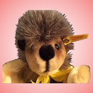 "Steiff Happy Hedgehog Igel  12"" Puppet made in West Germany"
