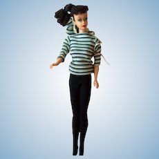 Vintage #5 Ponytail Barbie with clothing