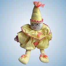 Adorable hand made clown
