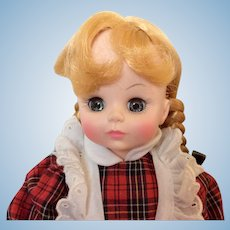 "McGuffey Ana by Effanbee 16"" Doll"