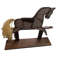 Wooden Horse, Hand Crafted