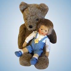 Kathe Kruse Boy and Bear