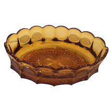 Amber Coin Bowl