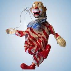 Vintage Clown Marionette