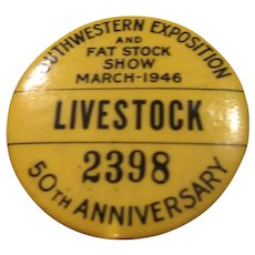 Vintage Livestock Pin