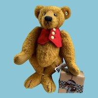 "Knickerbocker 18"" Bear with red vest"