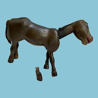 """8"""" Schoenhut Circus Donkey"""