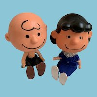 Mattel Skediddle Charlie Brown and Lucy