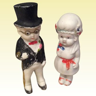 Bisque Bride and Groom
