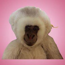 "Steiff Hango  13"" Plush Monkey  made in Germany from 1979 - 1988"