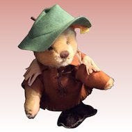"""Nimrod Camping 9"""" Teddy Bear from 1983 made in West Germany"""