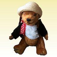 """Merrythought Teachers Pet 14"""" Limited Edition Mohair Bear"""