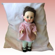 """R and B 67 by Arranbee 11"""" Vintage Doll with sleep eyes"""