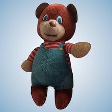 "Cute Vintage Carnival Bear 14"""