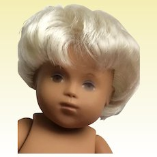 Sasha Baby Doll Unisex , Blonde Hair, Brown Eyes 12""