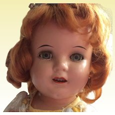 Princess Elizabeth or Ginger, body is marked Shirley Temple