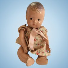 "7"" Marked Dionne Alexander Composition Baby Doll"