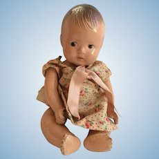 """7"""" Marked Dionne Alexander Composition Baby Doll"""