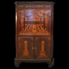 Johnson Bros, Satinwood Marquetry and Bronze Secrétaire à Abattant, circa 1910