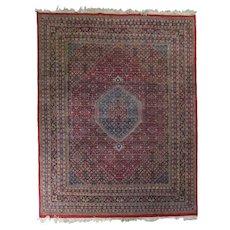 Large Vintage Bidjar Handwoven Persian Carpet, circa 1940