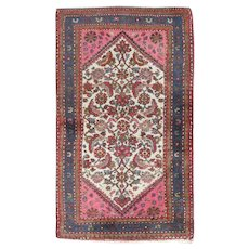 Antique Persian Bidjar Style Wool Rug, circa 1920