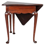 Queen Anne Style Mahogany Williamsburg Colonial Napkin Table by Kittinger