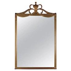 Antique French Empire Giltwood Wall Mirror, circa 1920
