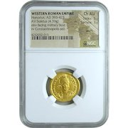Roman Gold Solidus of the Emperor Honorus