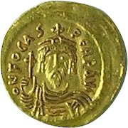 Byzantine Gold Solidus of the Emperor Phocas