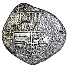 ATOCHA; Spanish Ship Wreck Coin; 8 Real; With the original Mel Fisher Signed COA