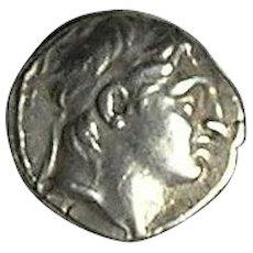 Demetrios I, Soter; Silver Drachm; Seleukid Kingdom