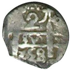 Bolivia; 2 Real Cob; 1758