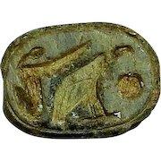 Ancient Egypt; Steatite Scarab; New Kingdom; c.1570-1075 BC
