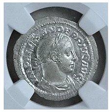 Severus Alexander; Ancient Roman Emperor; Uncirculated