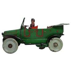 OROBR; Wind-up Tin Car; c1920; Germany