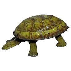Gunthermann Tin Wind-up Turtle; c 1930