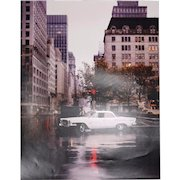 William Helburn 1962 Chrysler New Yorker Photograph Signed Inverse Limited