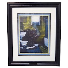 "Karien Zachery ""The Original Thinker"" African American Art Signed & Numbered"